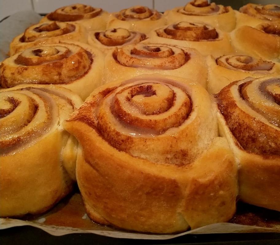 Ricetta Cinnamon Rolls